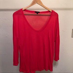 Gap - 3/4 Length T-Shirt - M